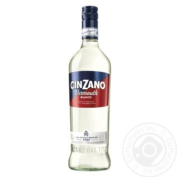 Вермут Cinzano Bianco белый сладкий 15% 0,5л - купить, цены на Метро - фото 1