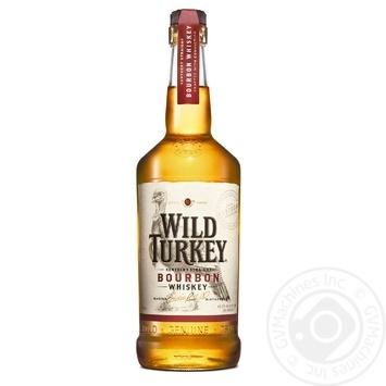 Виски Wild Turkey Бурбон 40,5% 0,7л