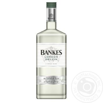 Джин Bankes London Dry 40% 1л