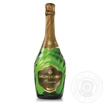 Вино ігристе Mondoro Prosecco біле сухе 11% 0,75л - купити, ціни на Novus - фото 1
