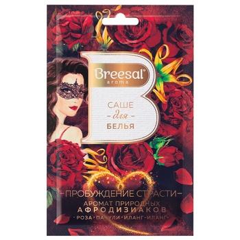 Саше ароматичне для білизни Breesal Пробудження пристрасті (Атласний захват) 20г - купити, ціни на Ашан - фото 1