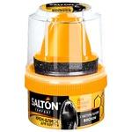 Salton Shoe Cream-gloss with Applicator black 50ml