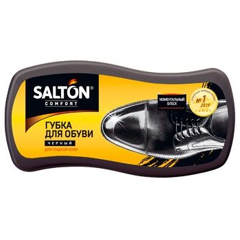 Salton Black For Smooth Leather Shoes Sponge - buy, prices for Auchan - photo 2