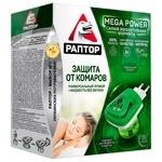 Комплект Раптор прибор + жидкость от комаров повышенной эффективности 30 ночей