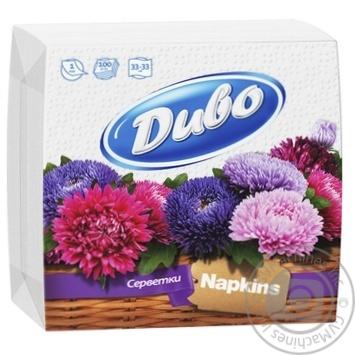 Divo  Paper Napkins 100pcs - buy, prices for Furshet - image 1