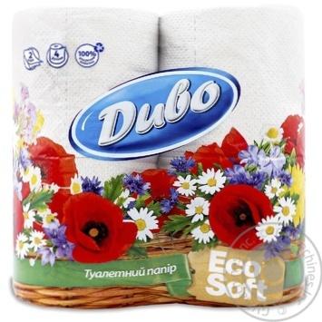 Туалетная бумага Диво 4шт - купить, цены на Фуршет - фото 1