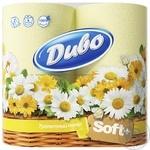 Папір туалетний Диво жовтий двошаровий 4шт Україна