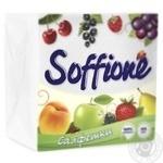 Серветки Soffione 33X33см 100шт