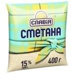 Slavia Sour cream 15% 400g
