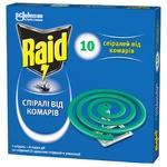 Спираль Raid против комаров 10шт