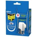 Електрофумігатор Raid від комарів з рідиною 30 ночей 50мл