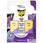 Raid Moth gel Lavender 2 sections 2pcs * 3g
