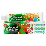 Зубная паста Лесной Бальзам детская от 2 лет 60мл