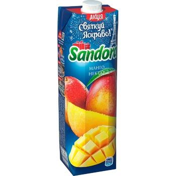 Нектар Sandora манго 950мл - купить, цены на МегаМаркет - фото 1