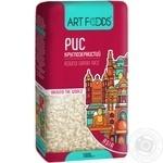 Рис Art Foods круглозернистий 1кг