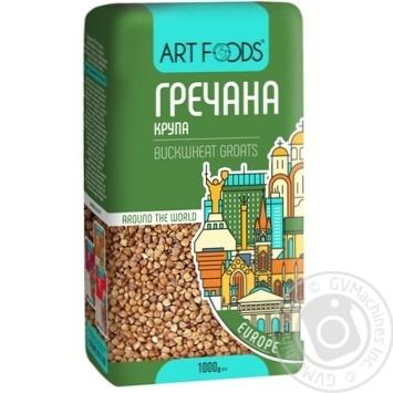 Крупа Art Foods гречана 1кг