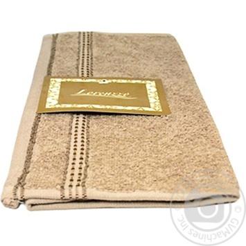 Carmen Towel Brown 30x30cm - buy, prices for MegaMarket - image 1