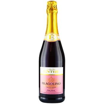 Entre Fragolino Salute Rosso Sparkling Wine Drink 6,9% 0,75l - buy, prices for CityMarket - photo 1