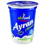 Напиток кисломолочный Ekfood Айран с укропом 0,8% 200г