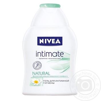 Гель Nivea Intimate Natural деликатный для интимной гигиены с экстрактом ромашки и молочной кислотой 250мл Германия - купить, цены на Восторг - фото 2