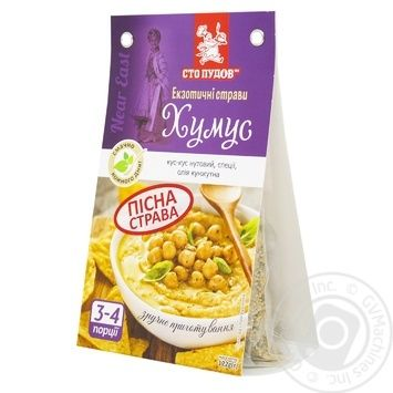 Pap Sto pudov ready-to-cook 122g - buy, prices for MegaMarket - image 1