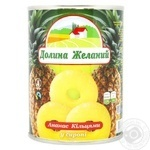 Fruit pineapple Dolina jelaniy ring 580ml can - buy, prices for Furshet - image 1