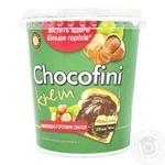 Масса кондитерская Chocofini с шоколадно-ореховым вкусом 400г