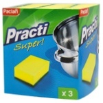 Paclan Kitchen Sponges 3pcs