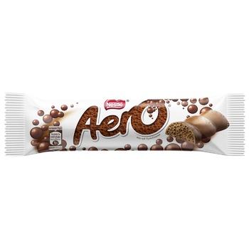 Батончик NESTLÉ® AERO® шоколадный молочный пористый 30г