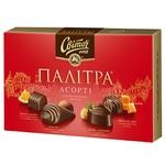 Цукерки СВІТОЧ® Палітра Асорті у молочному шоколаді 200г