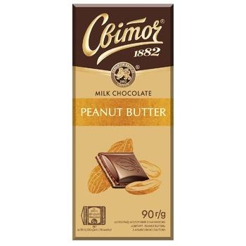 SVITOCH® Peanut Butter Filled Milk Chocolate 90g