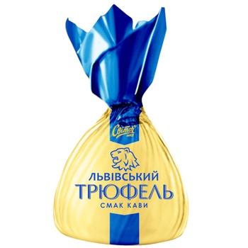 Конфеты Світоч Трюфель Львовский вкус кофе