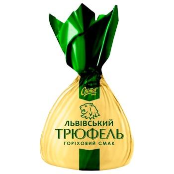 Конфеты Світоч Трюфель Львовский вкус ореха