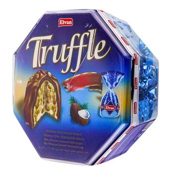 Конфеты Elvan Truffle с кокосом 650г