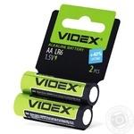 Батарейки Videx лужні LR06/АА 2шт - купити, ціни на Ашан - фото 2