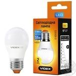 Лампа світлодіодна Videx LED G45E 3.5W E27 3000K