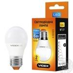 Лампа світлодіодна Videx 6W Е27 220V