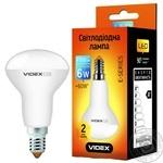 Лампа Videx світлодіодна R50Е 6W E14 3000K