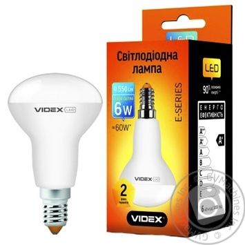 Лампа с/д VIDEX R50е 6W E14 3000K 220V