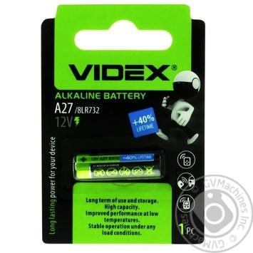 Videx Alkaline Battery А27 1pc