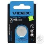 Videx Battery CR2025 1pc