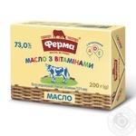 Масло сладкосливочное Ферма Для детей 73% 200г