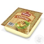 Сыр Сулугуни 45% Ферма 200г - купить, цены на Метро - фото 1