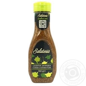 Заправка Salateria Салатная соевая с кунжутом 360г