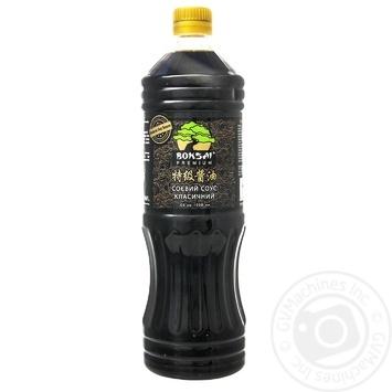 Соус Bonsai Premium соевый классический 1л