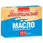 Масло Яготинське Селянське сладкосливочное 73% 200г