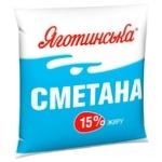 Yagotynska Sour Cream 15% 400g