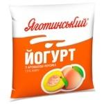 Йогурт Яготинський 1,5% персик 400г