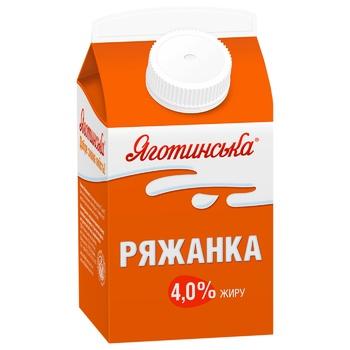 Yagotynska Fermented Baked Milk 4% 450g - buy, prices for CityMarket - photo 1
