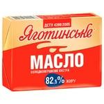 Yahotynske Extra Sweet Cream Butter 82,5% 180g